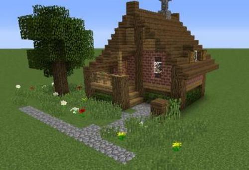 Как построить маленький красивый дом в minecraft. Как построить маленький и уютный дом в Майнкрафте?