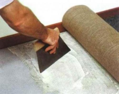 Ковровое покрытие, как стелить. Клеевые методы