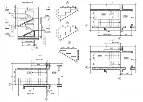 План лестницы. Правила составления чертежей своими руками