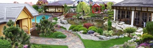 Как разделить огород и сад. Зонирование участка: разработка плана, зонирование перепадом высоты и цветом. 140 фото-идей