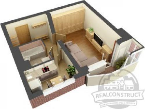 С чего начать ремонт в квартире студии. С чего начать ремонт однокомнатной квартиры?