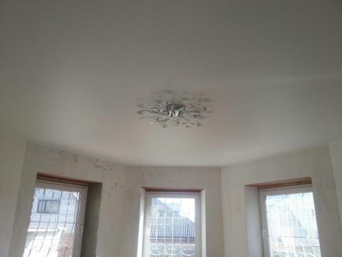 Как сделать комнаты в доме из пленки. Натяжные потолки
