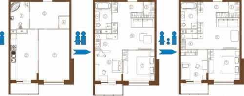 С чего начать ремонт в квартире вторичного жилья своими руками. Перепланировка помещений