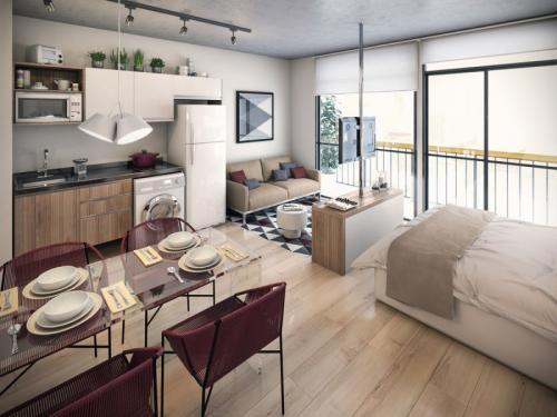 Идеи интерьера для маленькой квартиры. Маленькие квартиры — 100 фото эксклюзивного дизайна современных и стильных интерьеров