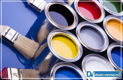 Краска для потолка в ванной комнате, какая лучше. Как выбрать краску для ванной комнаты?