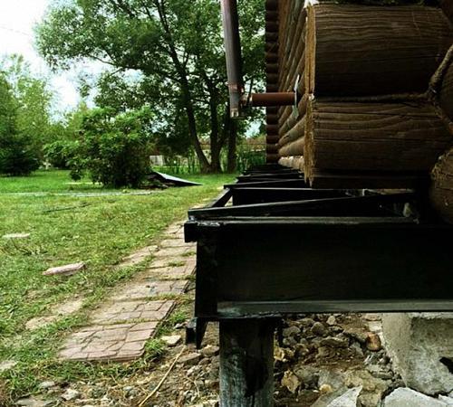Как отремонтировать фундамент деревянного дома. Ремонт фундамента деревянного дома своими руками