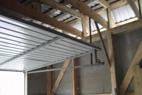 Автоматические ворота в гараж своими руками. Чертежи и размеры подъемных гаражных ворот, как сделать их своими руками