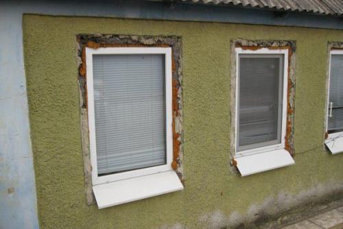 Оконные откосы наружные. Как сделать наружные откосы для пластикового окна?