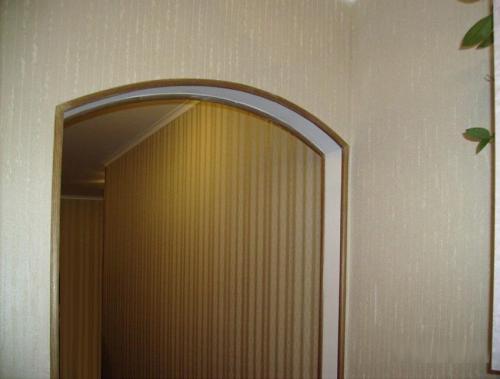 Углы арки чем отделать. Четкие линии и защиту от разрушения получаем благодаря окантовке