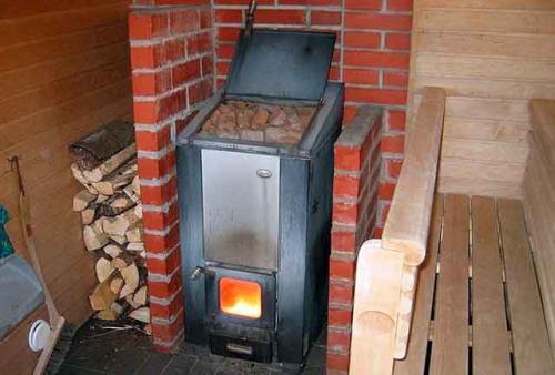 Металлическая печь для бани своими руками. Выбор конструкции банной печи